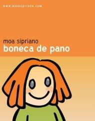 Boneca de pano - Moa Sipriano