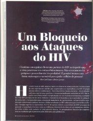 Um bloqueio aos ataques do HIV