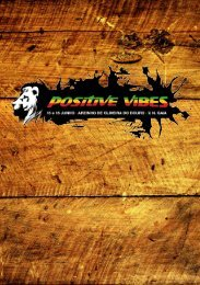 Press lançamento do festival - Positive Vibes