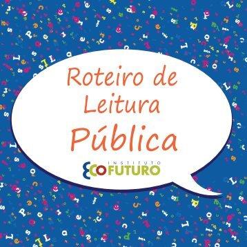 Roteiro de Leitura Pública - Biblioteca Virtual