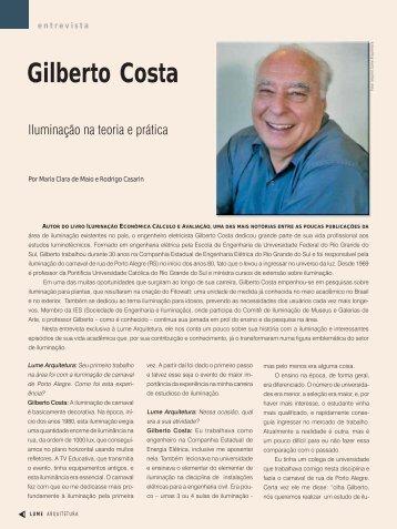 Gilberto Costa - Lume Arquitetura