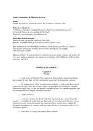 Conto Alexandrino, de Machado de Assis Fonte - Mensagens com ...