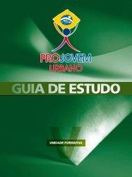 GUIA UF V - ProJovem Urbano