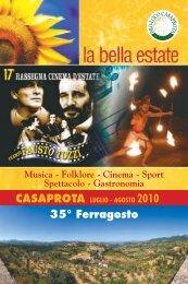 Musica – Folklore – Cinema - Lazionauta