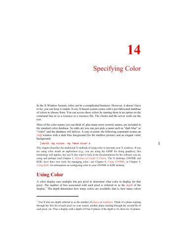 Specifying Color