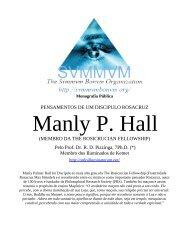 Pensamentos de Manly P. Hall - Ordo Svmmvm Bonvm
