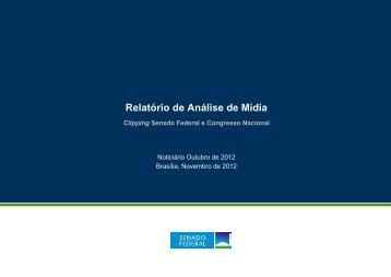 Relatório de Análise de Mídia - Senado Federal