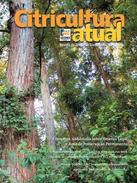 GCONCI - Área de Preservação Permanente - Reserva - Outorga