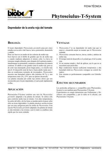 Phytoseiulus-T-System - Biobest