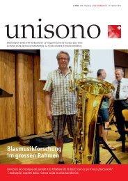 Blasmusikforschung im grossen Rahmen - Schweizer ...