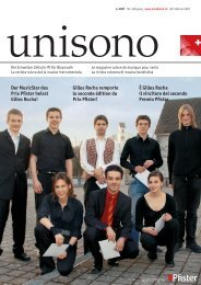 Der MusicStar des Prix Pfister heisst Gilles Rocha! - Schweizer ...