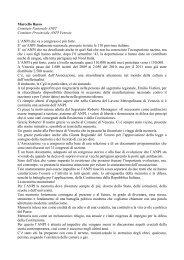 Marcello Basso Comitato Nazionale ANPI Comitato Provinciale ...