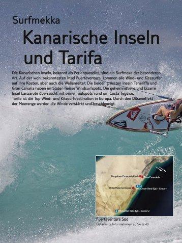 Kanarische Inseln und Tarifa - Windtravel