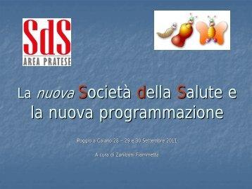 Programmazione giornate per assistenti sociali - PO-Net Rete Civica ...
