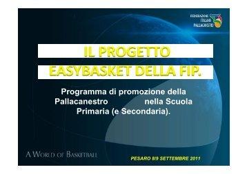 (e Secondaria). - Federazione Italiana Pallacanestro