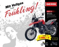 Derbi Frühling Flyer 2012  (PDF) - Zweirad Deusch