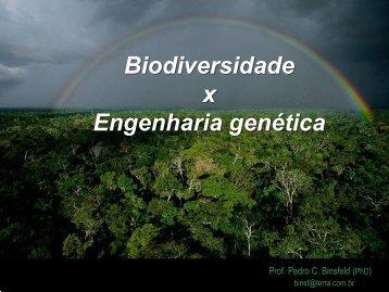 Biodiversidade x Engenharia genética - Apostilas em CENA