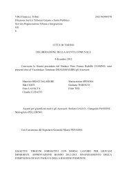 VDG Finanza e Tributi 2012 06909/070 Direzione ... - Città di Torino
