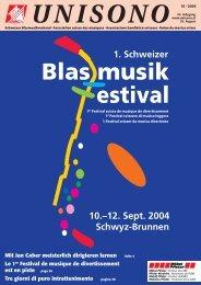 Dirigentin / Dirigenten - Schweizer Blasmusikverband