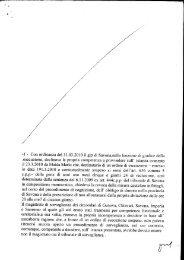 -l - Con ordinanza del 31.03.2010 il gip di Savona,nella funzione di ...