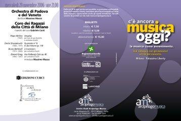 scarica il file PDF del programma - Arcipelago Musica