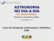 Coordenadas Celestes - Divisão de Astrofísica - Inpe