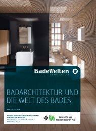 Badarchitektur und die Welt des Bades - Winkler Wil Haustechnik AG