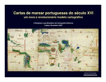 Cartas de marear portuguesas do século XVI - Instituto Geográfico ...