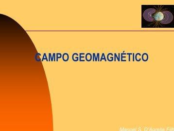CAMPO GEOMAGNÉTICO - IAG