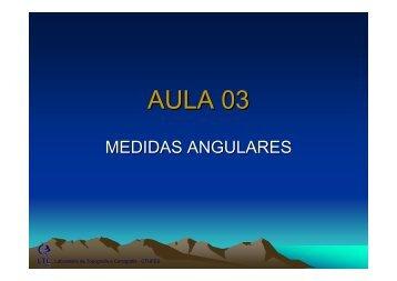 Aula03_Geomática_Medidas Angulares.pdf - Laboratório de ...