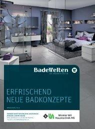 ErfrischEnd nEuE BadkonzEptE - Winkler Wil Haustechnik AG