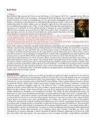 KARL MARX - Home Page de Nilson Moraes