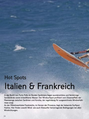 Italien & Frankreich - Windtravel