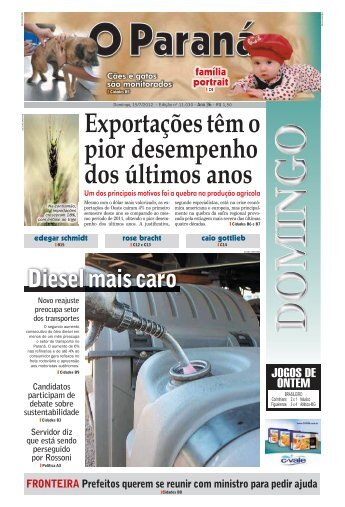 Exportações têm o pior desempenho dos últimos anos - O Paraná