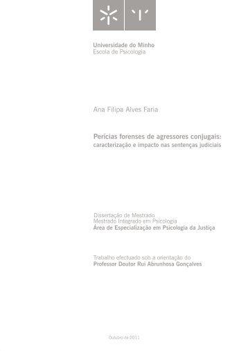 última versão - Ana Filipa Alves Faria.pdf - Universidade do Minho