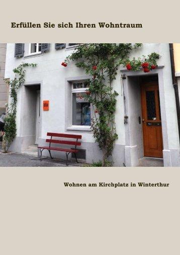 Verkaufsdokumentation - Wintimmo Treuhand und Verwaltungs AG