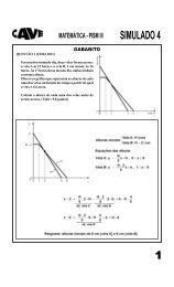 matemática - pism iii simulado 4 - Cave