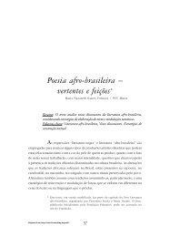 Poesia afro-brasileira - vertentes e feições - FALE - UFMG