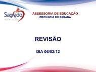 REVISÃO - Sagrado - Rede de Educação