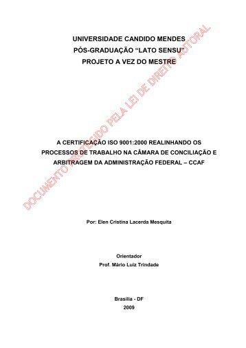 Elen Cristina Lacerda Mesquita - AVM Faculdade Integrada