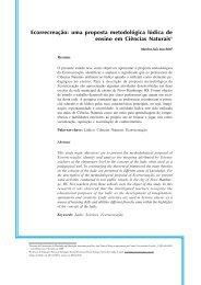 uma proposta metodológica lúdica de ensino em Ciências Naturais