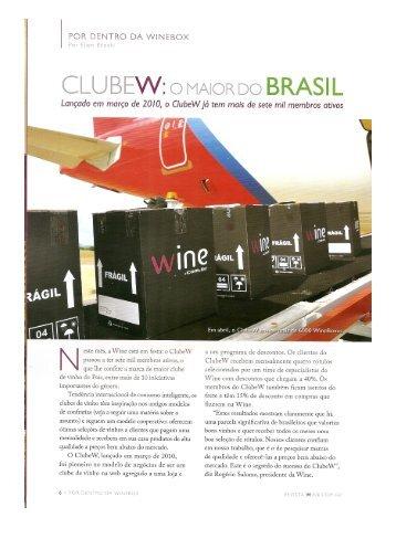 CLU BEW: o MAioR D BRASIL - Confraria do Sagu Santa Cruz do ...