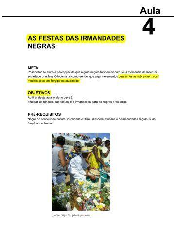 as festas das irmandades negras - Santo Antonio de Categeró