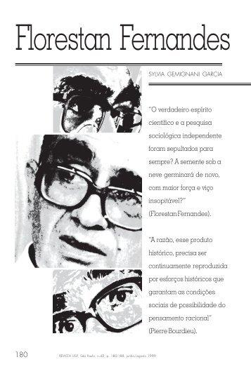 Florestan Fernandes e a autonomia da ciência Sylvia ... - USP