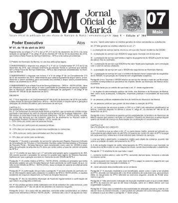 Poder Executivo Atos - O Fluminense