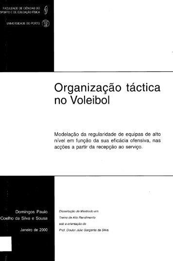 Organização táctica no Voleibol - Repositório Aberto da ...