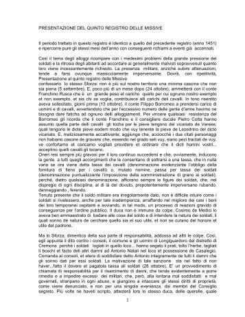 Registro missive n. 5 - Istituto Lombardo Accademia di Scienze e ...