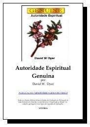 Autoridade Espiritual Genuina - Webnode