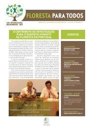 floresta para todos - SPCF - Sociedade Portuguesa de Ciencias ...