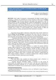 o tênue limite entre a ficção e a história - Revista Mundo & Letras